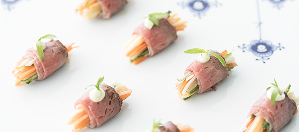 Canapés and Cocktails - Blond Catering, Sydney